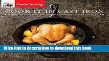 Books Cook It in Cast Iron: Kitchen-Tested Recipes for the One Pan That Does It All (Cook s