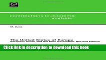 [Download] The United States of Europe: European Union and the Euro Revolution (Contributions to