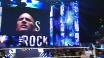 WWE The Rock interrupts Cm Punk and talk trash about Cm Punk HD