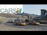 Project Cars Career US GT3 Championship | McLaren MP4 12C GT3 Laguna Seca | REPLAY Round 1 Race 1