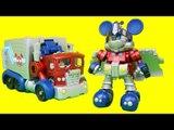 Transformers Mickey Mouse Optimus Prime Takara Tomy Disney Label Toys 트랜스포머 미키마우스 옵티머스프라임 장난감