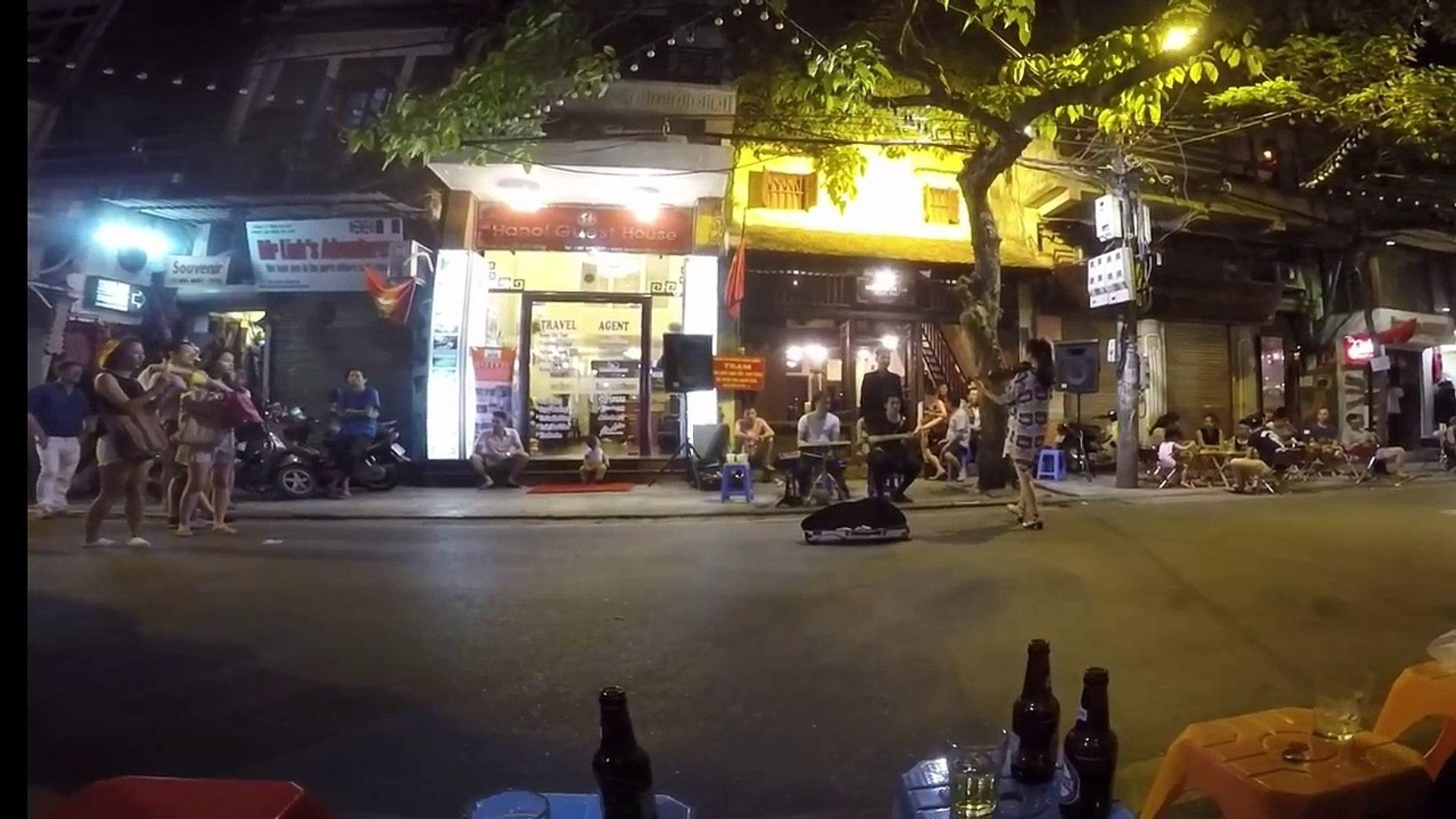 Street Musicians in Hanoi