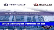 Books Passing your PRINCE2 Examinations 2009 Edition Full Online