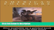 Ebook American Folklore: An Encyclopedia (Garland Reference Library of the Humanities) Full Online