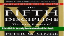 Ebook The Fifth Discipline: The Art   Practice of The Learning Organization Full Online