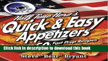 Ebook The HALFTIME HEROs 50+ RECIPE GUIDE To BACON APPETIZERS (The HALF TIME HERO Book 1) Free