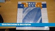 Ebook Brief Calculus an Applied Approach Free Online