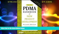 Must Have  The PDMA Handbook of New Product Development, Second Edition  READ Ebook Full Ebook Free