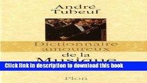 Ebook Dictionnaire amoureux de la musique Free Download