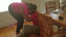 Les retrouvailles émouvantes entre une mère et son fils