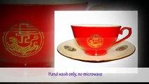 Best Auratic Tea Set 13-Piece Red Glaze Teacup With Saucer Tea Sets Review