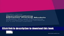 Download] Operationalizing Dynamic Pricing Models: Bayesian Demand
