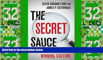 Big Deals  The Secret Sauce: Creating a Winning Culture  Best Seller Books Most Wanted