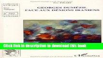 Books Georges Dumézil face aux démons Iraniens Full Online