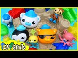 The Octonauts Sand Play Toys sandcastle❤TOYFAMILY PLAY TOYS