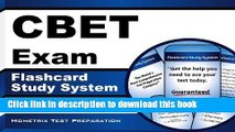 Ebook CBET Exam Flashcard Study System: CBET Test Practice Questions   Review for the Certified