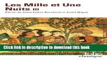 Books MILLE ET UNE NUITS T3 (LES) Full Download