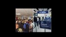 Hols chaos: Brit airport passengers fury at huge passport control checks delays