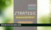 Must Have PDF  Strategic Management: Strategists at Work  Free Full Read Most Wanted