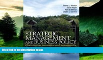 READ FREE FULL  Strategic Management and Business Policy: Globalization, Innovation and