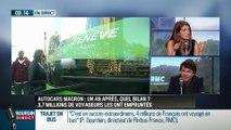 """Autocars Macron: """"C'est un lieu d'échanges entre toutes ces France qui d'habitude ne font que se croiser sans jamais se parler"""""""