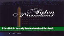 Download  Salon Promotions: Creative Blueprints for Success  Free Books