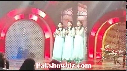 Manwa sisters new song(Allah jane) at PTV Home show Ji Ayan Noon
