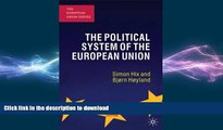 READ book  The Political System of the European Union (European Union (Paperback Adult))