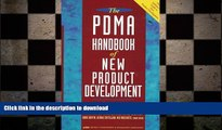 PDF ONLINE The PDMA Handbook of New Product Development FREE BOOK ONLINE