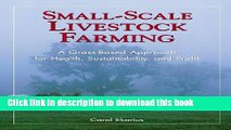 Books Small-Scale Livestock Farming: A Grass-Based Approach for Health, Sustainability, and Profit