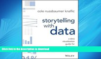 FAVORIT BOOK Storytelling with Data: A Data Visualization Guide for Business Professionals READ