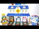 로보카폴리 구조 본부 놀이 만들기 폴리 로이 엠버 스쿨비  로봇  장난감 мультфильмы про машинки Робокар Поли Игрушки Robocar Poli