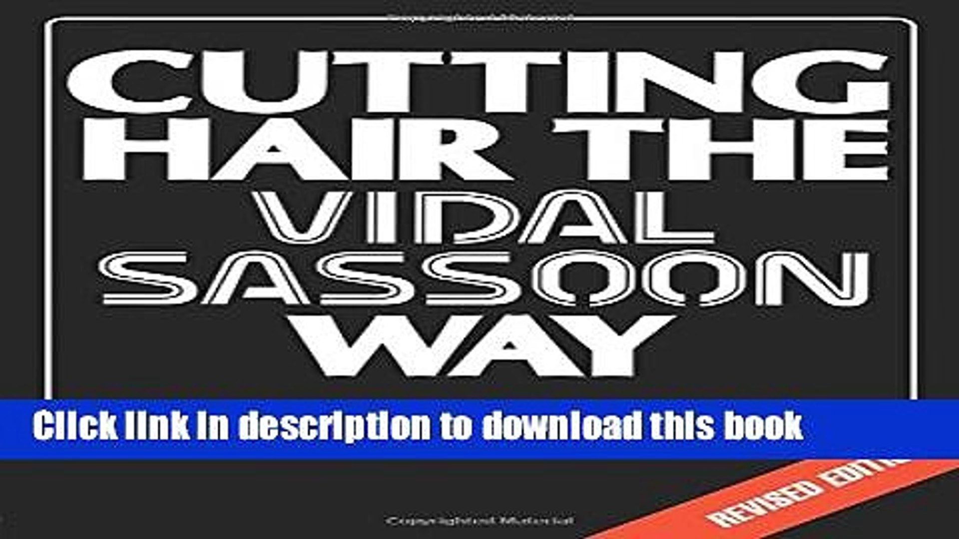 Books Cutting Hair the Vidal Sassoon Way Free Download