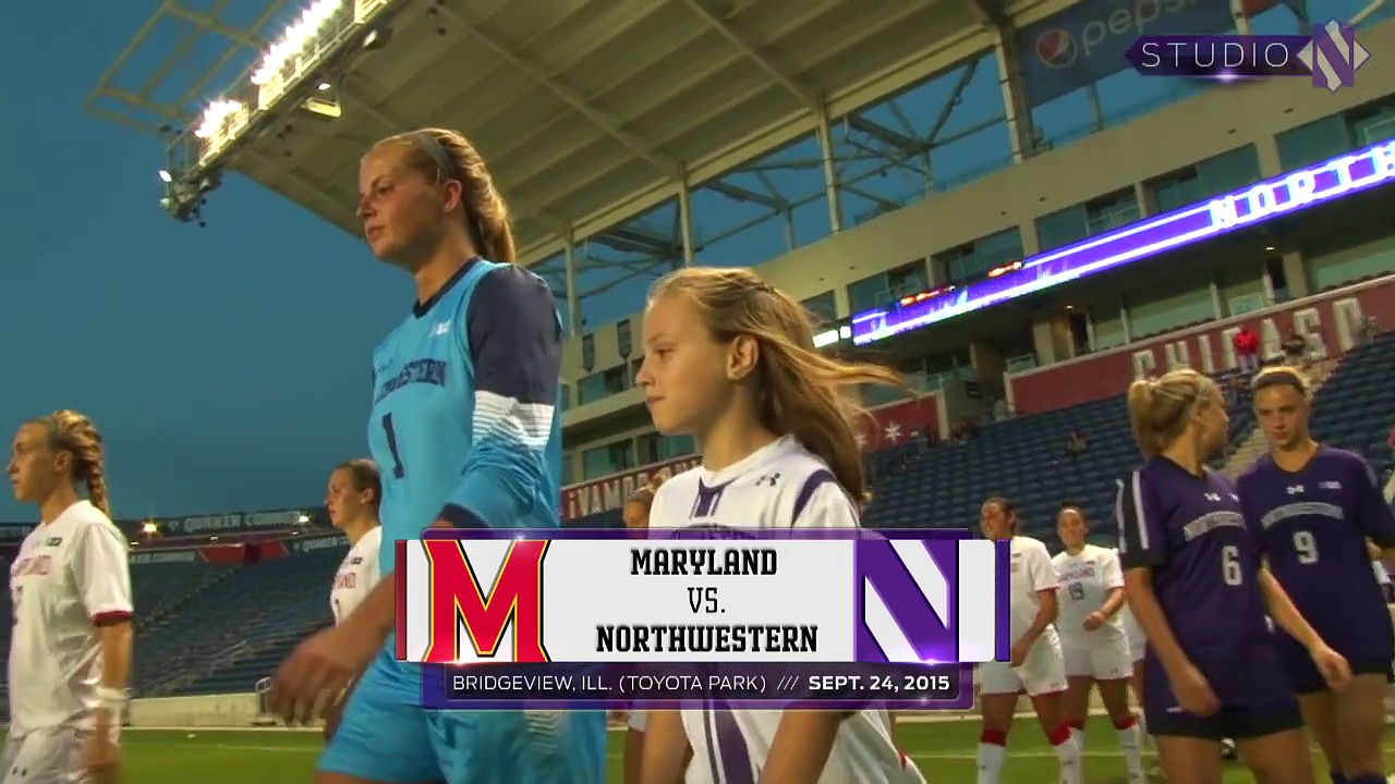 Women's Soccer – Maryland Game Highlights (9/24/15)