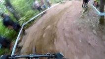 Adrénaline - VTT : caméra embarquée sur le spot du Mont-Saint-Anne avec Josh Bryceland