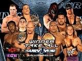 Team WWF(the rock,undertaker,kane,Big show) vs Team Alliance(Stone cold,kurt angle,booker t,RVD) 720p HD