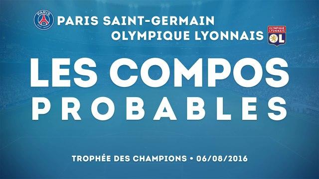 PSG-OL : les compos probables du Trophée des Champions !