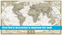 Books World Executive Poster Sized Wall Map (Tubed World Map) (National Geographic Reference Map)