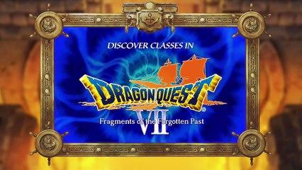 Dragon Quest VII : La Quête des vestiges du monde : Système de classes/vocations
