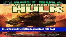 Ebook Hulk: Planet Hulk Free Online