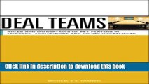 [Read PDF] Deal Teams: The Roles and Motivations of Management Team Members, Investment Bankers,
