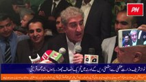 Neither Nawaz Sharif resigns nor I am leaving PTI, says Shah Mahmood Qureshi