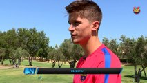 FCB Masía: entrevista a Abeledo y Cardona (Barça B) [ESP]
