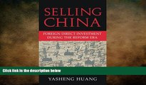 Free [PDF] Downlaod  Selling China: Foreign Direct Investment during the Reform Era (Cambridge