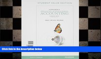 Free [PDF] Downlaod  Horngren s Financial   Managerial Accounting, The Managerial Chapters,