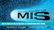 Ebook Essentials of MIS (11th Edition) Free Online