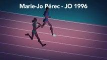 JO - Athlé : Les grands moments des Jeux, Marie-José Pérec aux JO de 1996