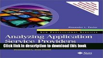 [Read PDF] Analyzing Application Service Providers (Sun Microsystems Press) Download Online