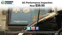 $39.95 Air Conditioning Inspection Service Special Hyundai Vehicles Capitol Heights MD Washington-DC