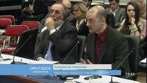 Exposición de Alfredo Ortega en la Cámara de Diputados